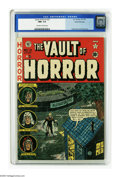 Golden Age (1938-1955):Horror, Vault of Horror #21 Gaines File pedigree 3/12 (EC, 1951) CGC NM+9.6 Off-white to white pages. Johnny Craig could really del...