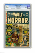 Golden Age (1938-1955):Horror, Vault of Horror #30 Gaines File pedigree 11/12 (EC, 1953) CGC NM9.4 Off-white to white pages. Riding the New York subway sy...