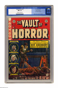 Golden Age (1938-1955):Horror, Vault of Horror #31 Gaines File pedigree 4/12 (EC, 1953) CGC NM+9.6 Off-white to white pages. Ray Bradbury fans, take note:...