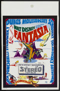 "Movie Posters:Animated, Fantasia (Elan, R-1970). Belgian (14"" X 21.5""). Animated. ..."