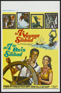 "Movie Posters:Fantasy, The 7th Voyage of Sinbad (Columbia, R-1975). Belgian (13.9"" X 21.3""). Fantasy. ..."