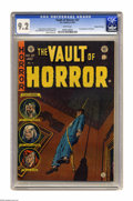 Golden Age (1938-1955):Horror, Vault of Horror #37 Gaines File pedigree 11/12 (EC, 1954) CGC NM-9.2 White pages. It's the first appearance of host charact...