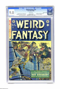 Golden Age (1938-1955):Science Fiction, Weird Fantasy #19 Gaines File pedigree 3/12 (EC, 1953) CGC VF/NM 9.0 White pages. This issue's cover announces another Ray B...