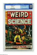 Golden Age (1938-1955):Science Fiction, Weird Science #10 Gaines File pedigree 4/11 (EC, 1951) CGC NM+ 9.6Off-white to white pages. Wally Wood pulls out all the st...