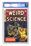 Golden Age (1938-1955):Science Fiction, Weird Science #19 Gaines File pedigree (EC, 1953) CGC NM+ 9.6Off-white to white pages. Dr. Fredric Wertham mentioned this i...