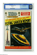 Golden Age (1938-1955):Science Fiction, Weird Science-Fantasy #26 Gaines File pedigree 3/12 (EC, 1954) CGCNM 9.4 White pages. Those pesky UFOs are hovering around ...