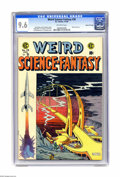 Golden Age (1938-1955):Science Fiction, Weird Science-Fantasy #28 Gaines File pedigree (EC, 1955) CGC NM+9.6 Off-white pages. Al Feldstein's cover makes us wonder ...