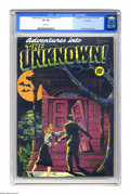 Golden Age (1938-1955):Horror, Adventures Into the Unknown #1 Vancouver pedigree (ACG, 1948) CGCVF 8.0 White pages. Word is getting around about the amazi...