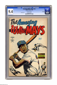 The Amazing Willie Mays #nn File Copy (Famous Funnies, 1954) CGC NM 9.4 Off-white pages. This is the nicest copy we've e...