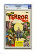 Golden Age (1938-1955):Horror, Beware Terror Tales #1 Crowley Copy pedigree (Fawcett, 1952) CGCVF/NM 9.0 Off-white pages. Some of the creepiest covers of ...