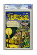 Golden Age (1938-1955):Horror, Beware Terror Tales #2 Crowley Copy pedigree (Fawcett, 1952) CGC NM9.4 Off-white to white pages. Gloating over riches in a ...