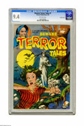 Golden Age (1938-1955):Horror, Beware Terror Tales #7 Crowley Copy pedigree (Fawcett, 1953) CGC NM9.4 Off-white pages. This is the highest-graded copy yet...