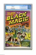 Golden Age (1938-1955):Horror, Black Magic #2 Palo Alto pedigree (Prize, 1950) CGC NM- 9.2 Creamto off-white pages. As with many of the 1950s titles that ...