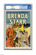 Golden Age (1938-1955):Romance, Brenda Starr V2#10 Mile High pedigree (Superior, 1949) CGC NM/MT 9.8 Off-white to white pages. It doesn't get any better tha...