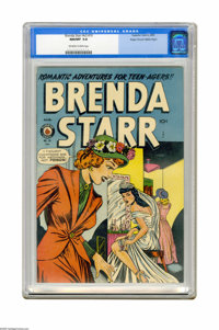 Brenda Starr V2#10 Mile High pedigree (Superior, 1949) CGC NM/MT 9.8 Off-white to white pages. It doesn't get any better...
