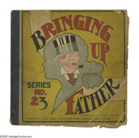 Bringing Up Father #23 (Cupples & Leon, 1933) Condition: FR. Brittle pages. First page is detached. Overstreet 2005...