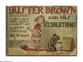 Platinum Age (1897-1937):Miscellaneous, Buster Brown & His Resolutions (Frederick A. Stokes Co., 1903)Condition: GD. Let's have a round of applause for the first n...