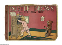 Buster Brown The Busy Body (Cupples & Leon, 1909) Condition: Incomplete. 42 of 62 pages are present. Brittle pag...