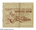 Platinum Age (1897-1937):Miscellaneous, Buster Brown Premium: Buster Brown Drawing Book #nn (Buster BrownStocking Company, circa 1903) Condition: GD. Black and whi...