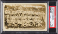 Baseball Cards:Singles (Pre-1930), 1915 Boston Red Sox with Rookie Babe Ruth Real Photo Postcard PSAVG+ 3.5....