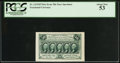 Fractional Currency:First Issue, Fr. 1313SP 50¢ First Issue PCGS About New 53.. ...
