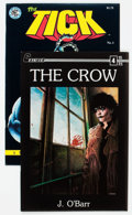 Modern Age (1980-Present):Alternative/Underground, The Crow #3/The Tick #1 Group (Caliber/New England Comics, 1988-89).... (Total: 2 Comic Books)