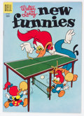Golden Age (1938-1955):Cartoon Character, New Funnies #223 (Dell, 1955) Condition: NM-....