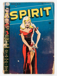The Spirit #22 (Quality, 1950) Condition: FR/GD