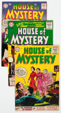 Golden Age (1938-1955):Horror, House of Mystery Group of 8 (DC, 1954-59) Condition: AverageVG/FN.... (Total: 8 Comic Books)