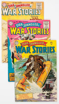 Golden Age (1938-1955):War, Star Spangled War Stories Group of 5 (DC, 1954-58) Condition:Average FN.... (Total: 5 Comic Books)