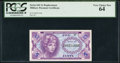 Military Payment Certificates:Series 641, Series 641 5¢ PCGS Very Choice New 64.. ...