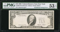 Error Notes:Missing Third Printing, Fr. 2027-B $10 1985 Federal Reserve Note. PMG About Uncirculated 53 EPQ.. ...