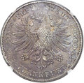 German States:Frankfurt am Main, German States: Frankfurt. Free City 2 Taler 1855 MS63 NGC,...
