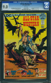 All-Star Western #11 (DC, 1972) CGC VF/NM 9.0 White pages