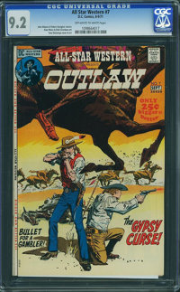 All-Star Western #7 (DC, 1971) CGC NM- 9.2 Off-white to white pages