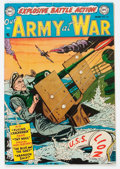Golden Age (1938-1955):War, Our Army at War #20 (DC, 1954) Condition: FN....