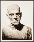"Movie Posters:Horror, Boris Karloff in The Mummy by Roman Freulich (Universal, 1932). Portrait Photo (8"" X 10""). Horror.. ..."