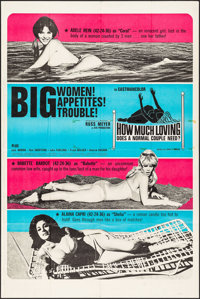 """Common Law Cabin (Eve Productions, 1967). Poster (40"""" X 60""""). Sexploitation. Original Title: How Much Loving D..."""