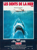 """Movie Posters:Horror, Jaws (Universal, 1975). French Grande (45.75"""" X 61.5""""). Horror.. ..."""