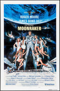 "Movie Posters:James Bond, Moonraker (United Artists, 1979). International One Sheet (27"" X41"") Advance & Poster (8.25"" X 12""). James Bond.. ... (Total: 2Items)"