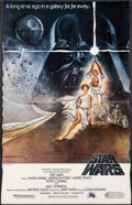 "Movie Posters:Science Fiction, Star Wars (Lucasfilm, R-1982). Video Release Standee (36"" X 56.5"").Science Fiction.. ..."