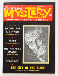 Startling Mystery Stories #12 (Health Knowledge, Inc., 1969) Condition: VF