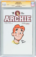 Modern Age (1980-Present):Humor, Archie #1 Sketch Edition Signature Series (Archie, 2015) CGC NM/MT9.8 White pages....