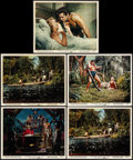 "Movie Posters:Adventure, Tarzan's Fight for Life (MGM, 1958). Color Photos (11) (8"" X 10"").Adventure.. ... (Total: 11 Items)"