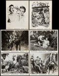 "Movie Posters:Adventure, Tarzan and the Lost Safari (MGM, 1957). Photos (37) & Key ArtPhotos (7) (8"" X 10""). Adventure... ... (Total: 44 Items)"