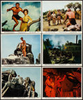 "Movie Posters:Adventure, Tarzan the Ape Man (MGM, 1959). Color Photo Set of 12 & Photos(8) (8"" X 10""). Adventure.. ... (Total: 20 Items)"