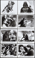 """Movie Posters:Science Fiction, The Empire Strikes Back (20th Century Fox, 1980). Photos (8) (8"""" X10""""). Science Fiction.. ... (Total: 8 Items)"""