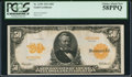 Large Size:Gold Certificates, Fr. 1199 $50 1913 Gold Certificate PCGS Choice About New 58PPQ.....