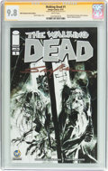 Modern Age (1980-Present):Horror, The Walking Dead #1 Wizard World Columbus Sketch Edition - Signature Series (Image, 2015) CGC NM/MT 9.8 White pages....