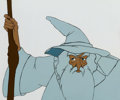 Animation Art:Production Cel, The Lord of the Rings Gandalf Production Cel (Ralph Bakshi,1978). ... (Total: 2 )
